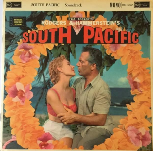 V/A - Rodgers & Hammerstein's South Pacific: Original Sound Track (LP) (G++/G+)